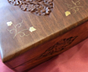 Stripped Sheesham Luxury Jewellery Box